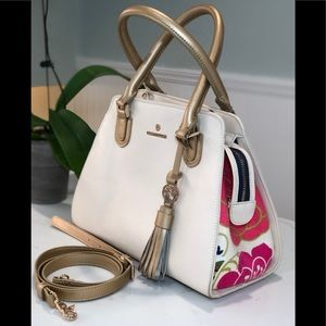 HOST PICK 🎉🎊Spartina cream leather bag
